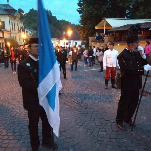 Oslavy Dňa baníkov, geológov, hutníkov anaftárov v Banskej Štiavnici