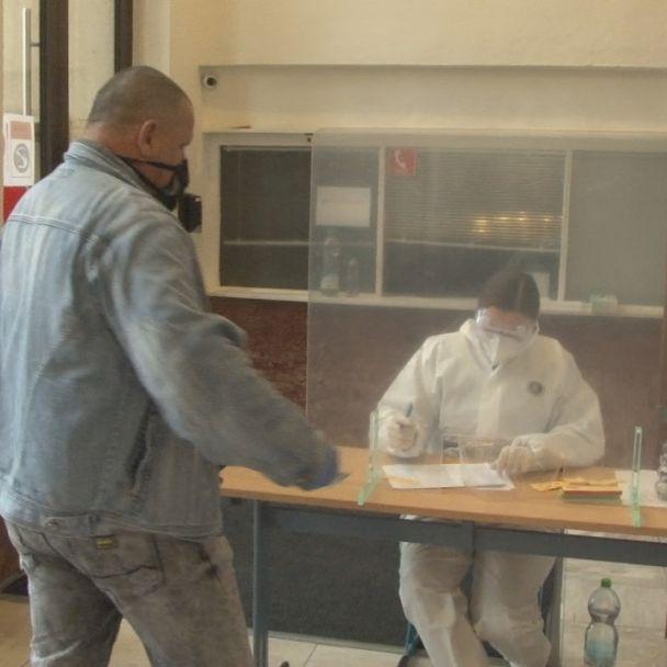 Testovanie na COVID19 v Žiari nad Hronom