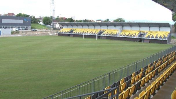 Futbalový štadión je dokončený