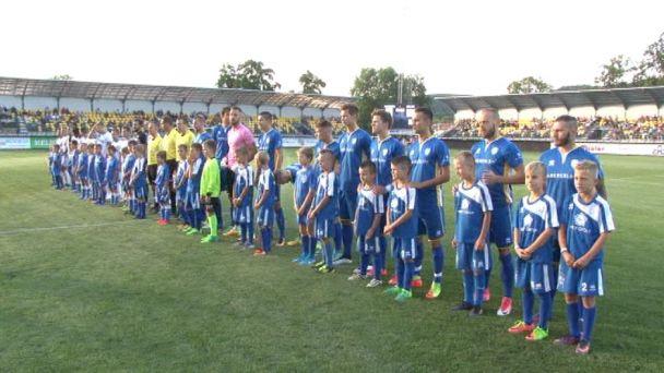 FK Pohronie hralo proti S.N.Vsi už na novom štadióne