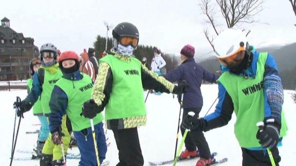 Deň na lyžiarskom výcviku Dvojky