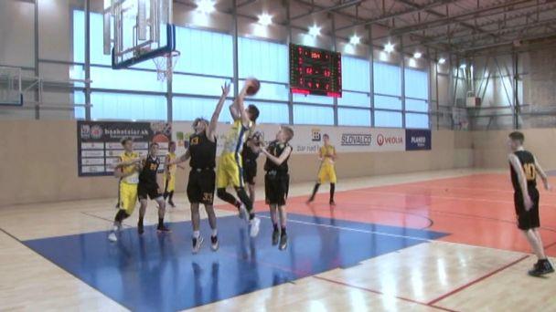 Basketbal starší žiaci - Tesná výhra s Interom