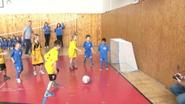 Futbalová školička odohrala zápas so Štvorkou