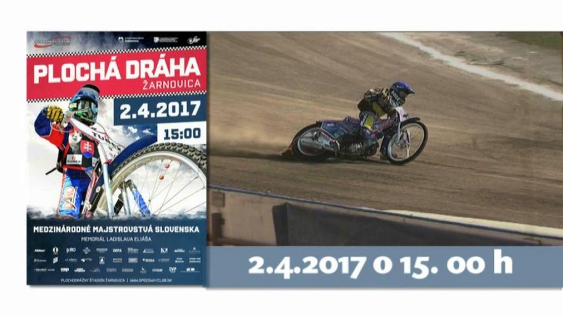 Plochá dráha v Žarnovici už 2.apríla