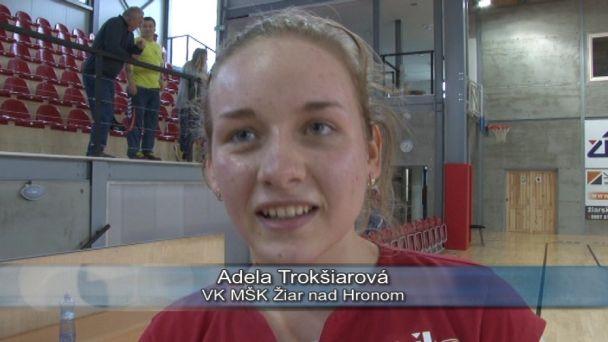 Žiarské ženy privítali MVK Stropkov