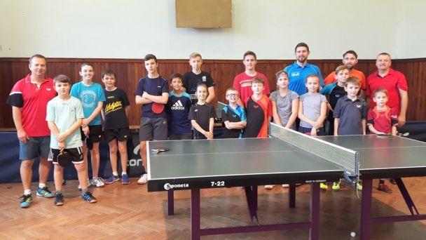 Mladí stolní tenisti absolvovali sústredenie a turnaj