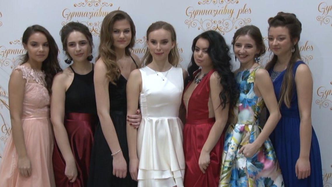 Gymnaziálny ples v Žiari otváral Andrej Bičan