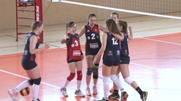 VK MŠK Žiar vs. Volleybal Academy Žilina
