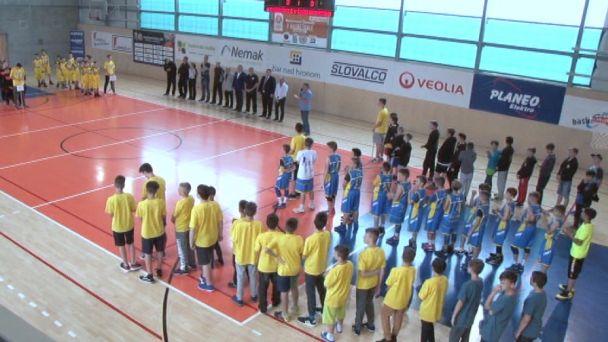 Žiarski starší minibasketbalisti sú majstrami Slovenska