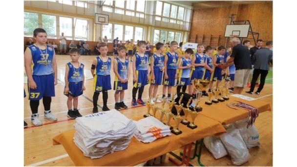 Žiarski basketbalisti U11 vicemajstrami Slovenska