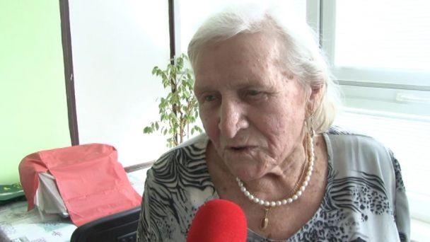 Pani Jaroslava oslávila  90. narodeniny