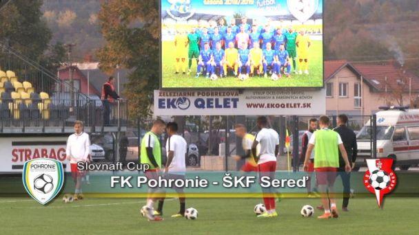 FK Pohronie vs. Sereď