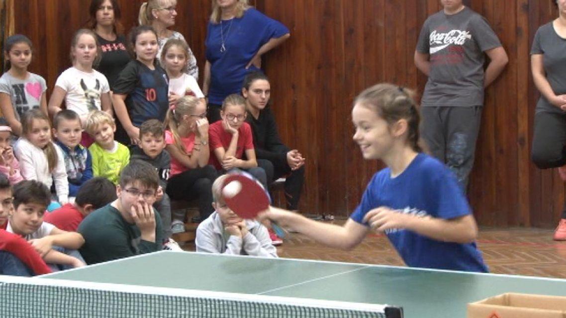 Stolný tenis do žiarskych škôl