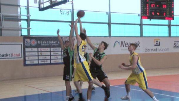 Basketbal: Žiar vs. Prievidza