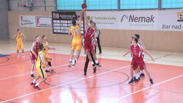 Basketbal: MŠK Žiar vs. ŽU Žilina