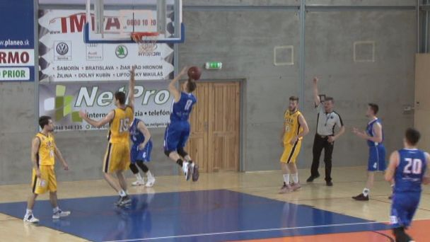 Basketbal: Žiarski muži privítali doma Karlovku Bratislava