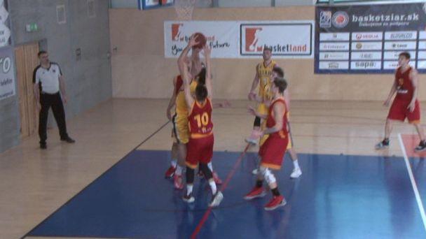 Basketbal muži: Žiar vs. Košice