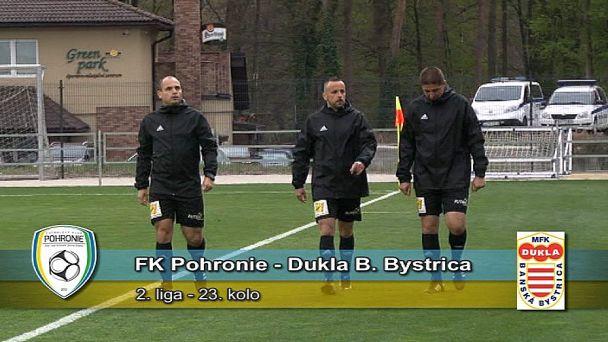 Zápas  Pohronia s Bystricou sa rozhodol v prvých minútach