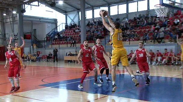 Basketbal: Žiar vs. B.Bystrica