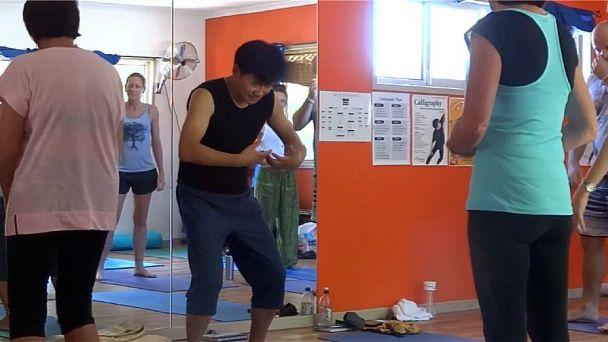 Vaše zdravie podporí Kaligrafická yoga