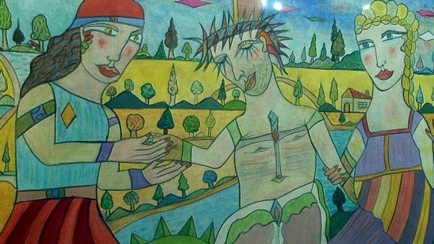 Šaňo Ludovít Daniel vystavuje v Žiari