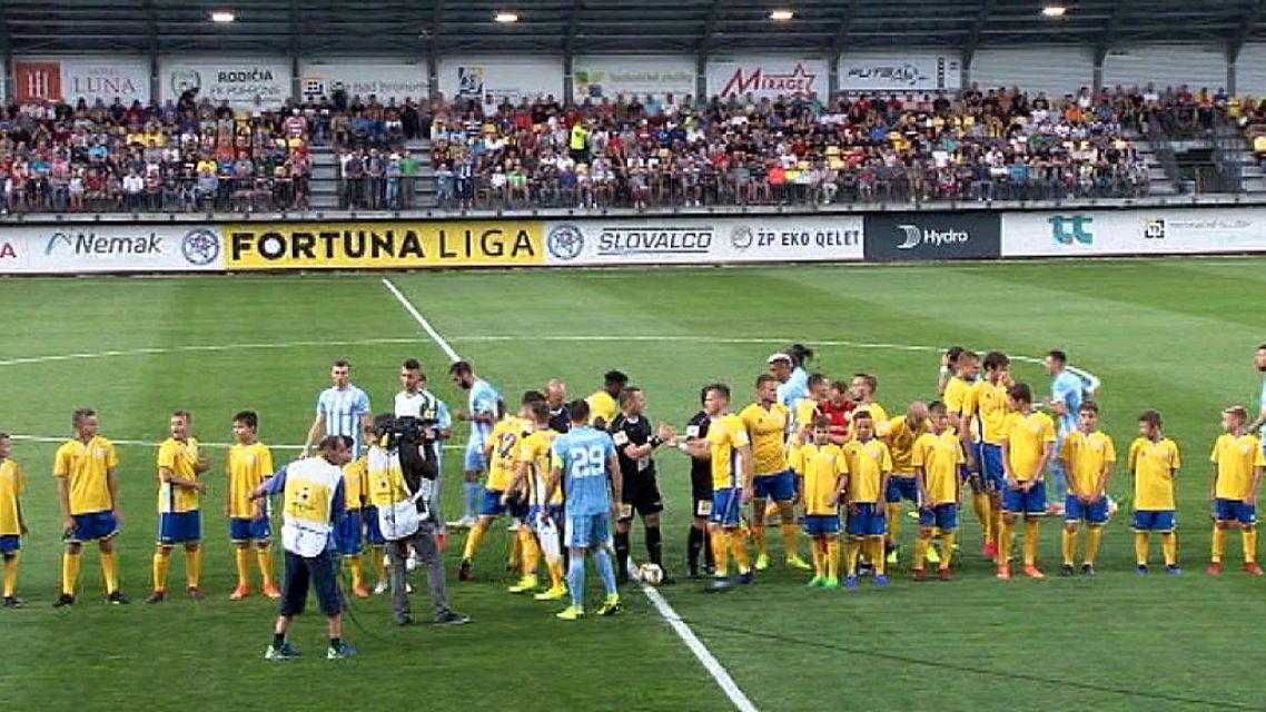 Prvý zápas FK Pohronie vo Fortuna lige bol so Slovanom