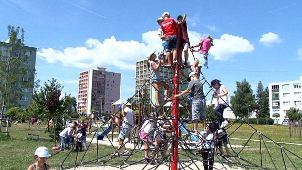 Žiarske deti trávia leto v Kocúrkove