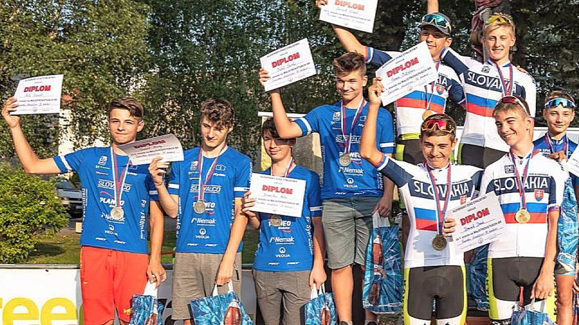Žiarski cyklisti opäť s medailami