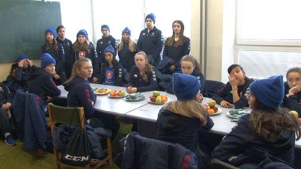 Slovenská ženská hokejová reprezentácia trénovala v Žiari