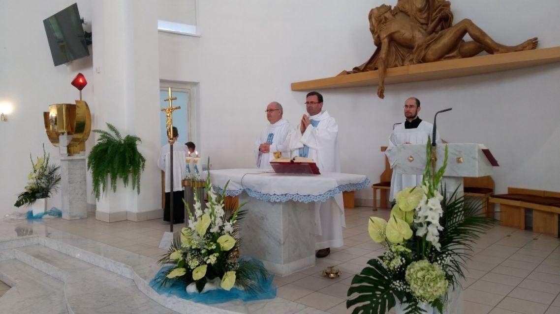 Hodová omša bola aj v Kostole Sedembolestnej Panny Márie