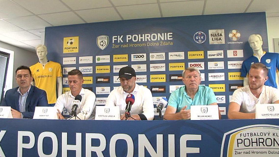 Tlačová beseda FK Pohronie pred prvým zápasom