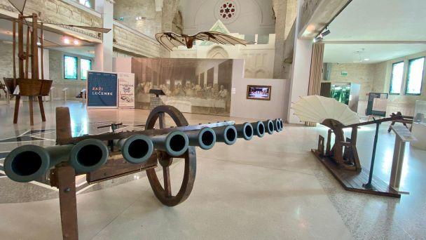 Výstava  unikátnych strojov Leonarda da Vinci