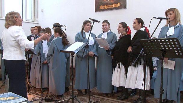 Koncert žiarskych Holúbkov z Kríža