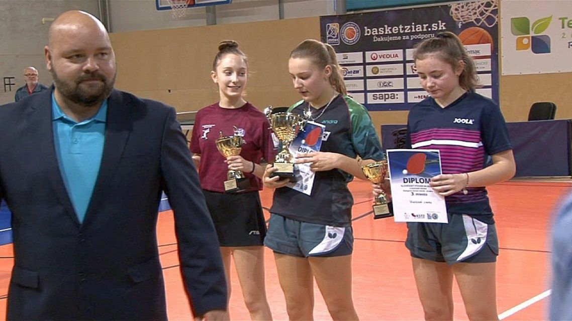 Turnaj Slovenského pohára v stolnom tenise bol v Žiari