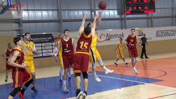Žiarski basketbalisti  privítali Sláviu TU Košice