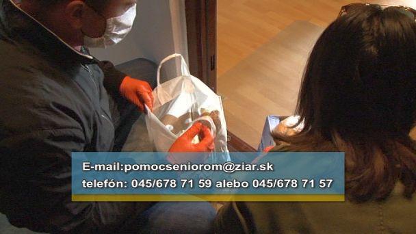 Žiar zabezpečuje seniorom nákupy do 20 eur