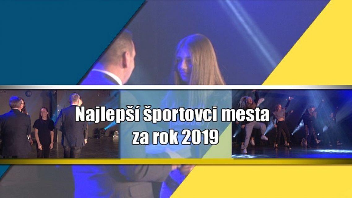 Žiarski športovci mesta v roku 2019 - I.časť