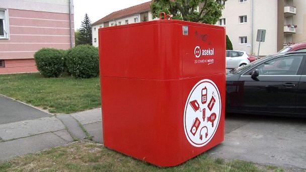 Červeno-biele kontajnery v Žiari vám ušetria čas a všetkým životné prostredie