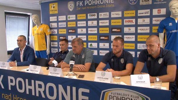 FK Pohronie vstupuje do sezóny 2020/2021 s cieľom zostať vo Fortuna lige