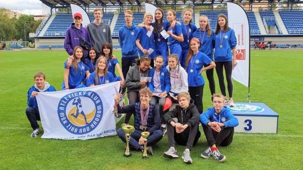 Úspešná sezóna žiarského atletického klubu pokračuje