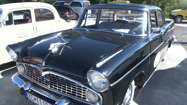 Spanilá jazda historických vozidiel odštartovala v Žiari