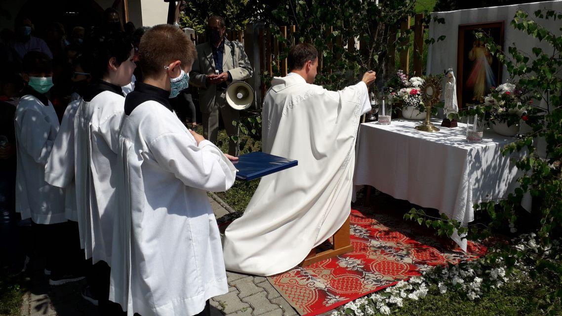 V Janovej Lehote sa konala slávnostná svätá omša