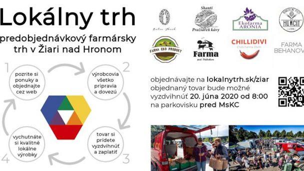 Lokálny trh už aj v Žiari