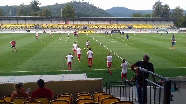 FK Pohronie privítalo štvrtý celok ligy AS Trenčín