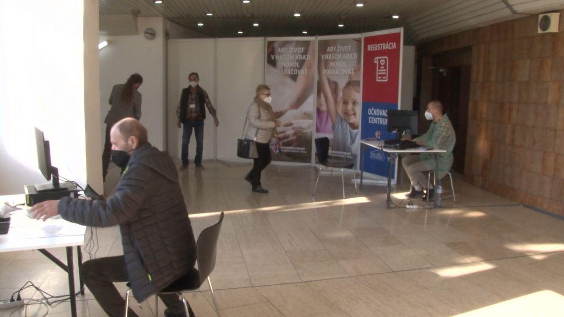 Očkovacie centrum otvorili 10.apríla aj v Žiari nad Hronom