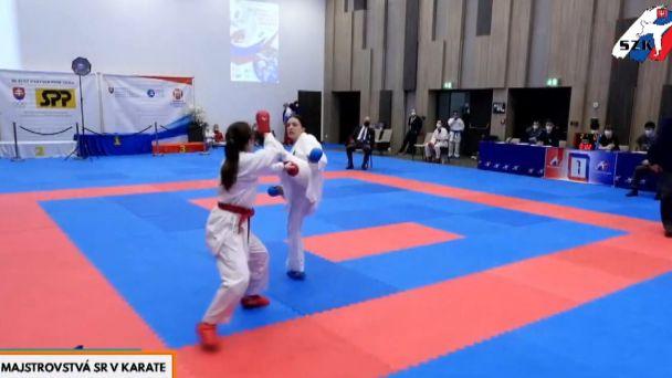 Traja Žiarčania nás reprezentovali na  Majstrovstvá Slovenska v karate
