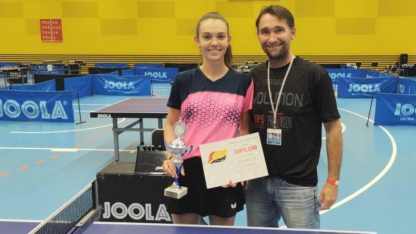 Žiačanka Linda Majerčíková uspela na medzinárodnom turnaji