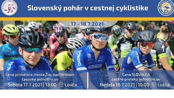 Slovenská cyklistická mládež opäť na cestách v okolí Žiaru