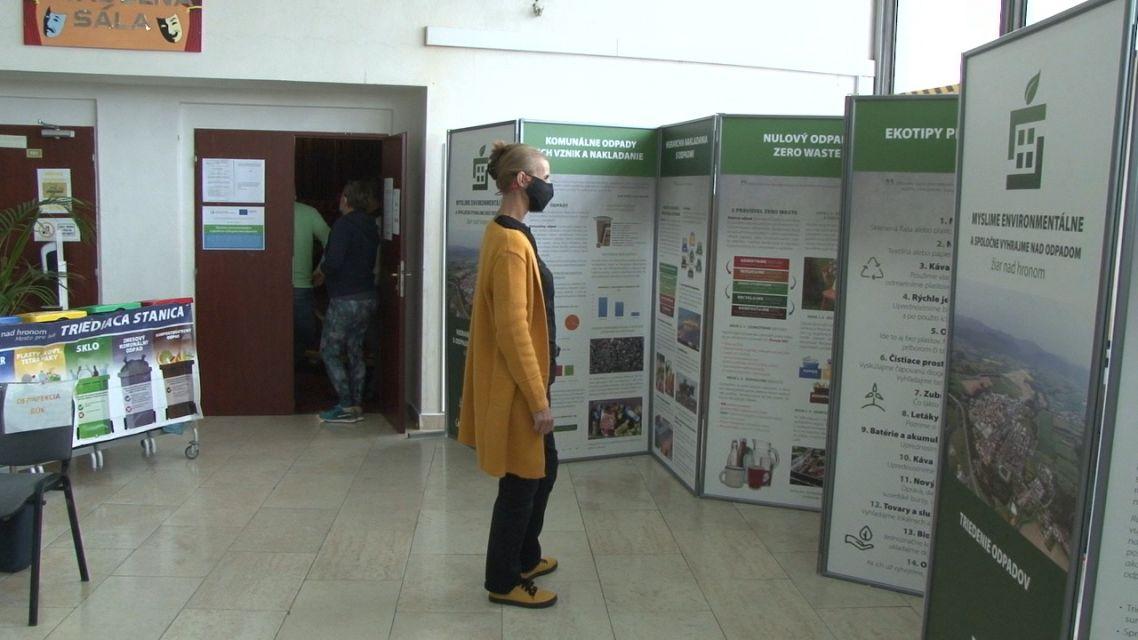 Žiarska radnica prednášala ľuďom o odpadoch